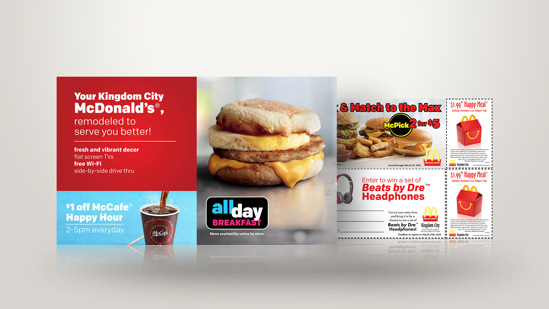 McDonald's® Direct Mail