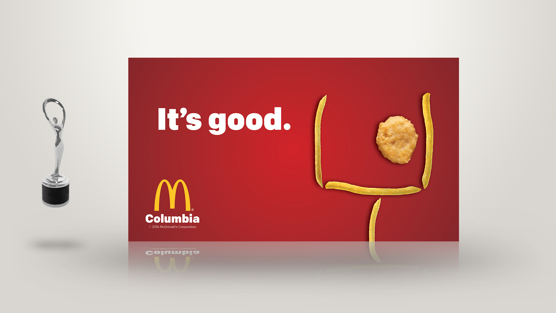 image relating to Mcdonalds Printable Job Application identified as McDonalds of Columbia Print Advert Visionworks Promoting Local community